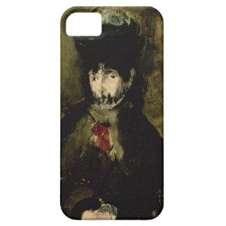Manet   Berthe Morisot portant un voile, 1872 iPhone 5 Case