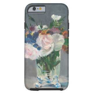 Manet | fleurit dans un vase en cristal, c.1882 coque iPhone 6 tough