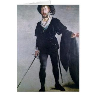 Manet | Jean Baptiste Faure comme Hamlet, 1877 Carte De Vœux