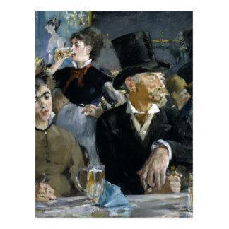 Manet : Le Café-Concert, Cartes Postales