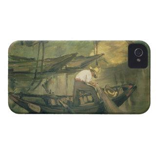 Manet   le pêcheur, c.1861 coques iPhone 4 Case-Mate