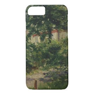 Manet | un coin du jardin en Rueil, 1882 Coque iPhone 7