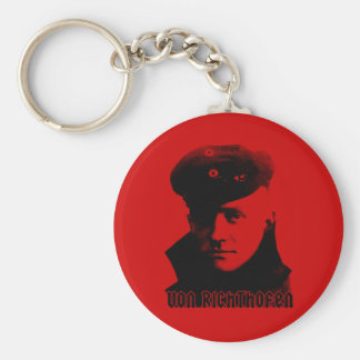 Manfred Von Richthofen Porte-clé Rond