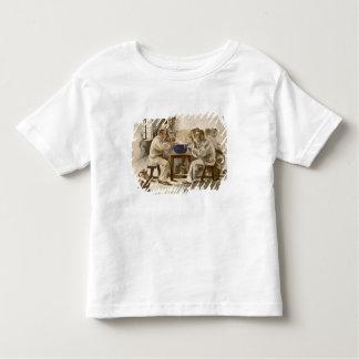Mangeant de la soupe aux casernes, de 'L'Estampe T-shirt Pour Les Tous Petits