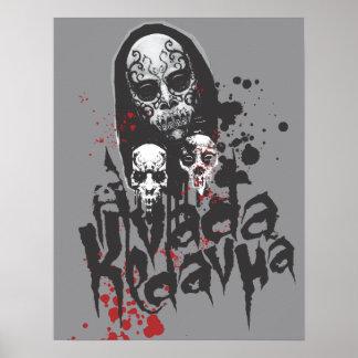 Mangeur Avada Kedavra de la mort Poster