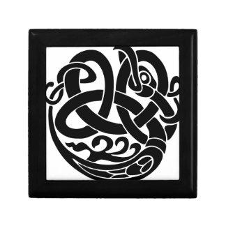mangeur Jormungandr du monde de serpent du monde Boîte À Souvenirs