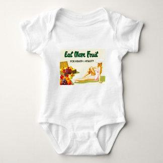 Mangez de plus de fruit pour la santé et la t-shirts