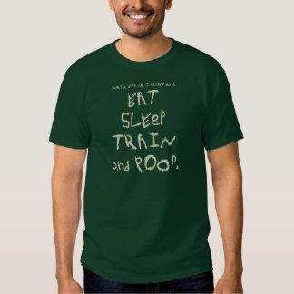 """""""MANGEZ, DORMEZ, EXERCEZ-VOUS, version de T-shirts"""