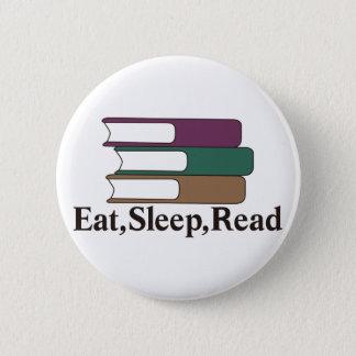 Mangez, dormez, lisez badges