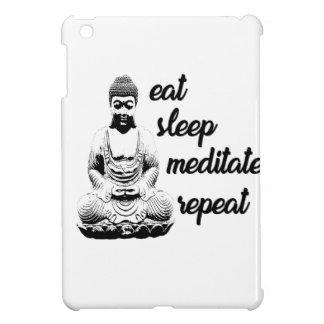 Mangez, dormez, méditez, répétez étui iPad mini