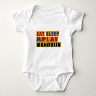 Mangez la MANDOLINE de sommeil et de jeu Body