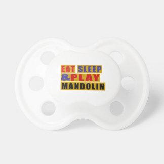 Mangez la MANDOLINE de sommeil et de jeu Sucettes Pour Bébé