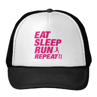 Mangez la répétition de course de sommeil casquettes de camionneur