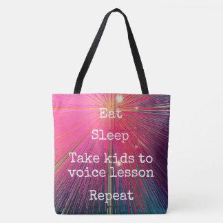 """""""Mangez la répétition de sommeil, chantent"""" à Sac"""