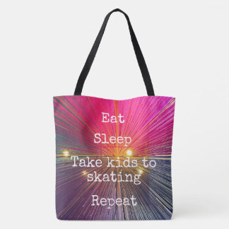 """""""Mangez la répétition de sommeil,"""" sac fourre-tout"""