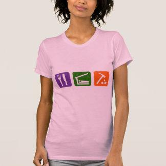 Mangez l'archéologie de sommeil t-shirt