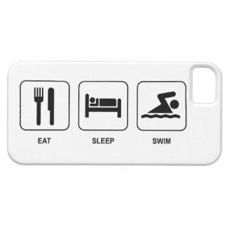 Mangez le bain de sommeil coque iPhone 5 Case-Mate