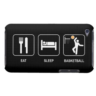 Mangez le basket-ball de sommeil coque barely there iPod