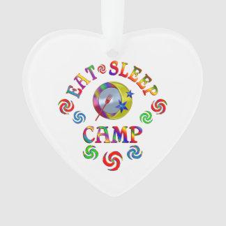 Mangez le camp de sommeil