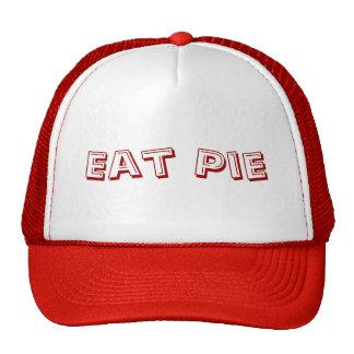 Mangez le casquette de camionneur de tarte