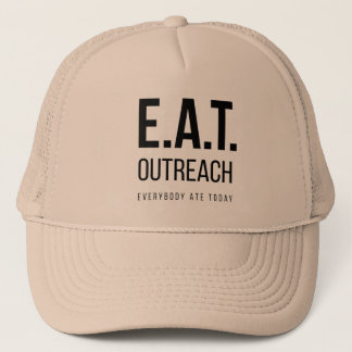 MANGEZ le casquette de camionneur d'Outreach