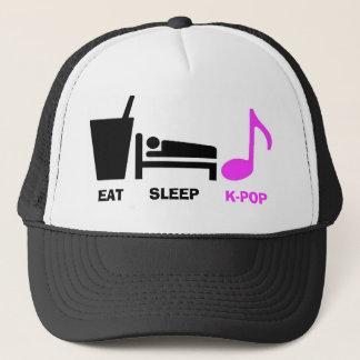 Mangez le casquette de Kpop de sommeil