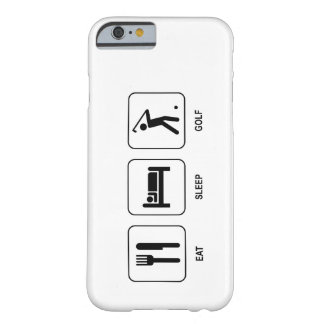 Mangez le golf de sommeil coque iPhone 6 barely there