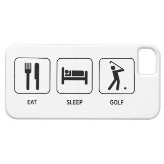 Mangez le golf de sommeil coques Case-Mate iPhone 5
