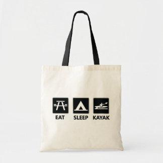 Mangez le kayak de sommeil sac
