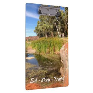 Mangez le porte - bloc de l'Australie de rivière Porte-bloc
