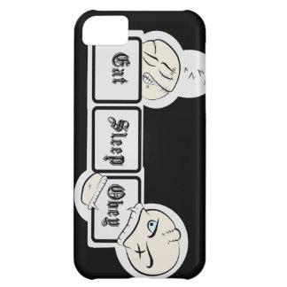 Mangez le sommeil obéissent coques pour iPhone 5C