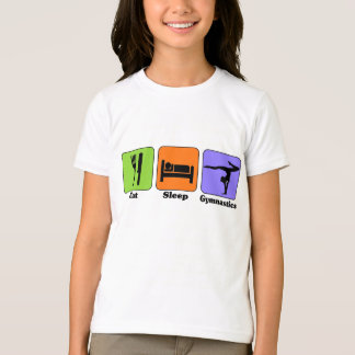 Mangez le T-shirt de gymnastique de sommeil