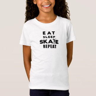 Mangez le T-shirt de répétition de patin de