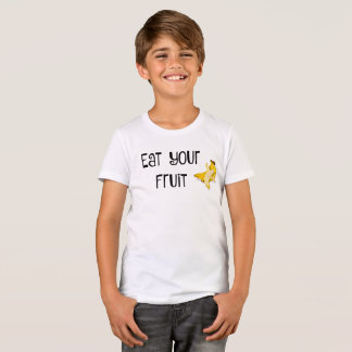 Mangez le T-shirt de votre enfant de fruit