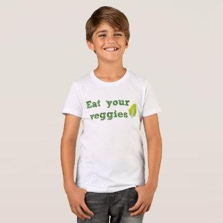 Mangez le T-shirt de votre enfant de légume