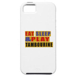 Mangez le TAMBOUR DE BASQUE de sommeil et de jeu Coques Case-Mate iPhone 5