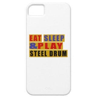 Mangez le TAMBOUR MÉTALLIQUE de sommeil et de jeu Coques iPhone 5 Case-Mate