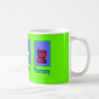 Mangez les cadeaux de pharmacien de pharmacie de mug