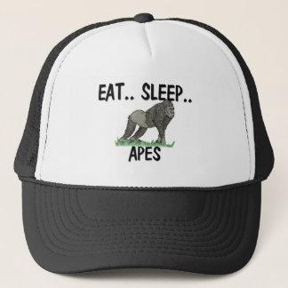 Mangez les SINGES de sommeil Casquettes De Camionneur