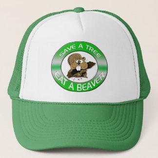 Mangez un casquette de castor