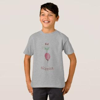 Mangez un T-shirt plus heureux