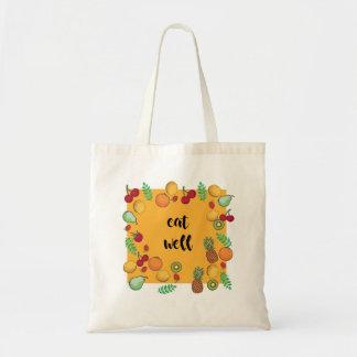 mangez votre sac de verts