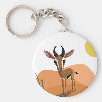 Mangue la gazelle porte-clés