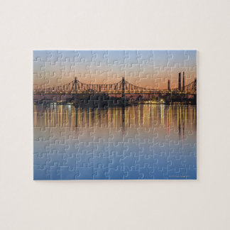 Manhattan au-dessus de l'East River. Puzzle