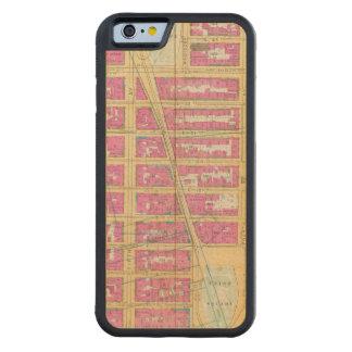 Manhattan, New York 12 Coque iPhone 6 Bumper En Érable