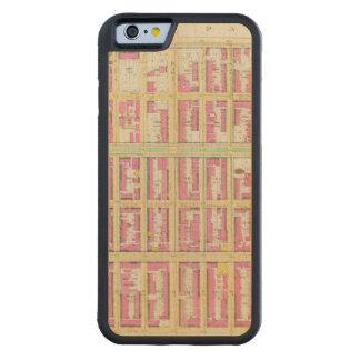 Manhattan, New York 3 Coque iPhone 6 Bumper En Érable
