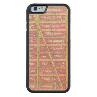 Manhattan, New York 7 Coque iPhone 6 Bumper En Érable