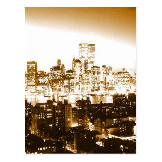 Manhattan New York Carte Postale