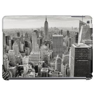 Manhattan, New York (panorama noir et blanc)