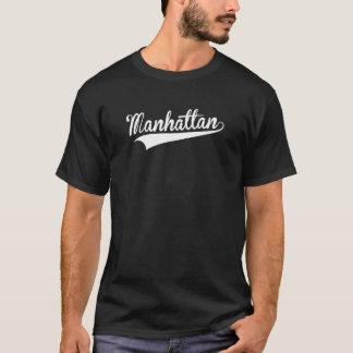 Manhattan, rétro, t-shirt